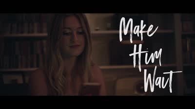 Abby Anderson - -Make Him Wait- (Official Lyric Video)